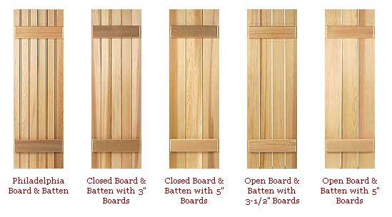 Exterior Composite Shutters In Toronto, Exterior Wood Shutters