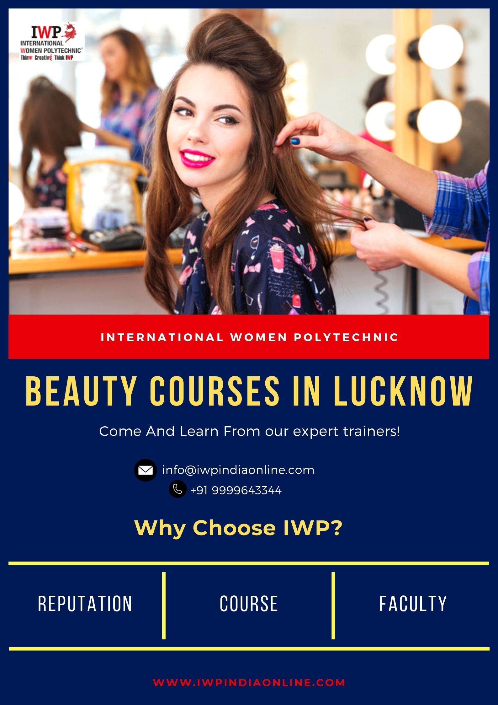 Cosmetology Institute Lucknow Beauty College in Lucknow