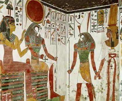 ancient Egypt Horus and Ra
