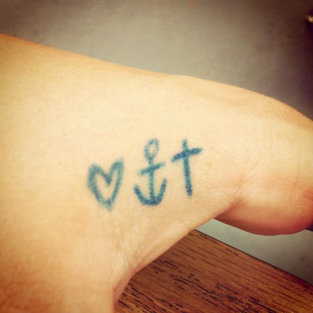 I Want This Tattoo In Between My Thumb Index Finger