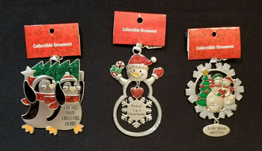 Hallmark Personalized Metal Snowman Christmas Ornament Samuel