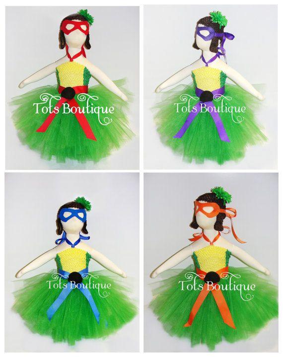 toddler teenage mutant ninja turtle tutu set by totsboutique - Teenage Mutant Ninja Turtles Halloween Costumes For Kids