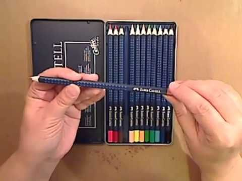 All About Faber Castell Aquarelle Pencils Watercolor Pencils