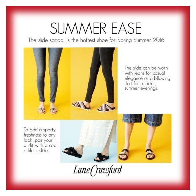 """SUMMER EASE"" by lanecrawford ❤ liked on Polyvore featuring Alexander McQueen, Lane Crawford and contemporary"