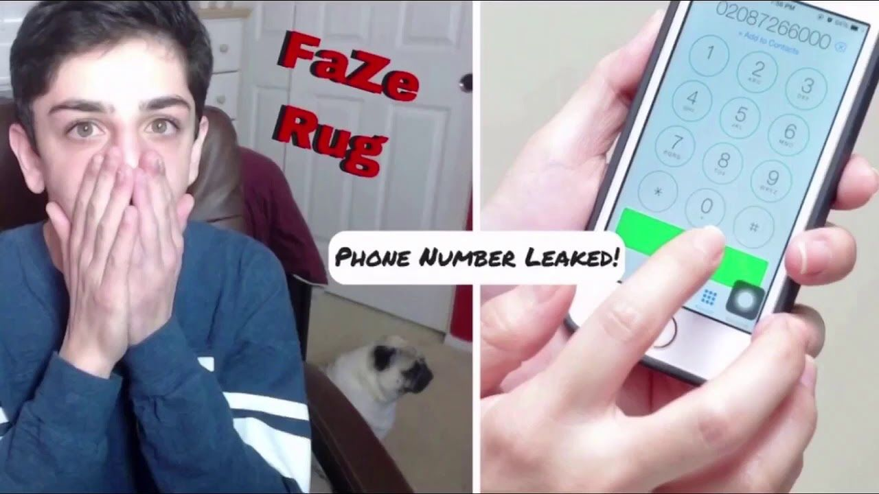 What Is Faze Rug Phone Number Feels