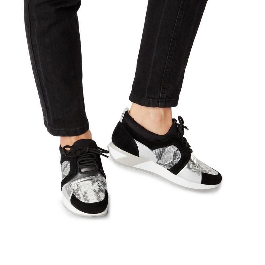 4d3aee033e16 EAVIE - Mixed Material Runner Sneaker   Active Sportswear & sneakers ...