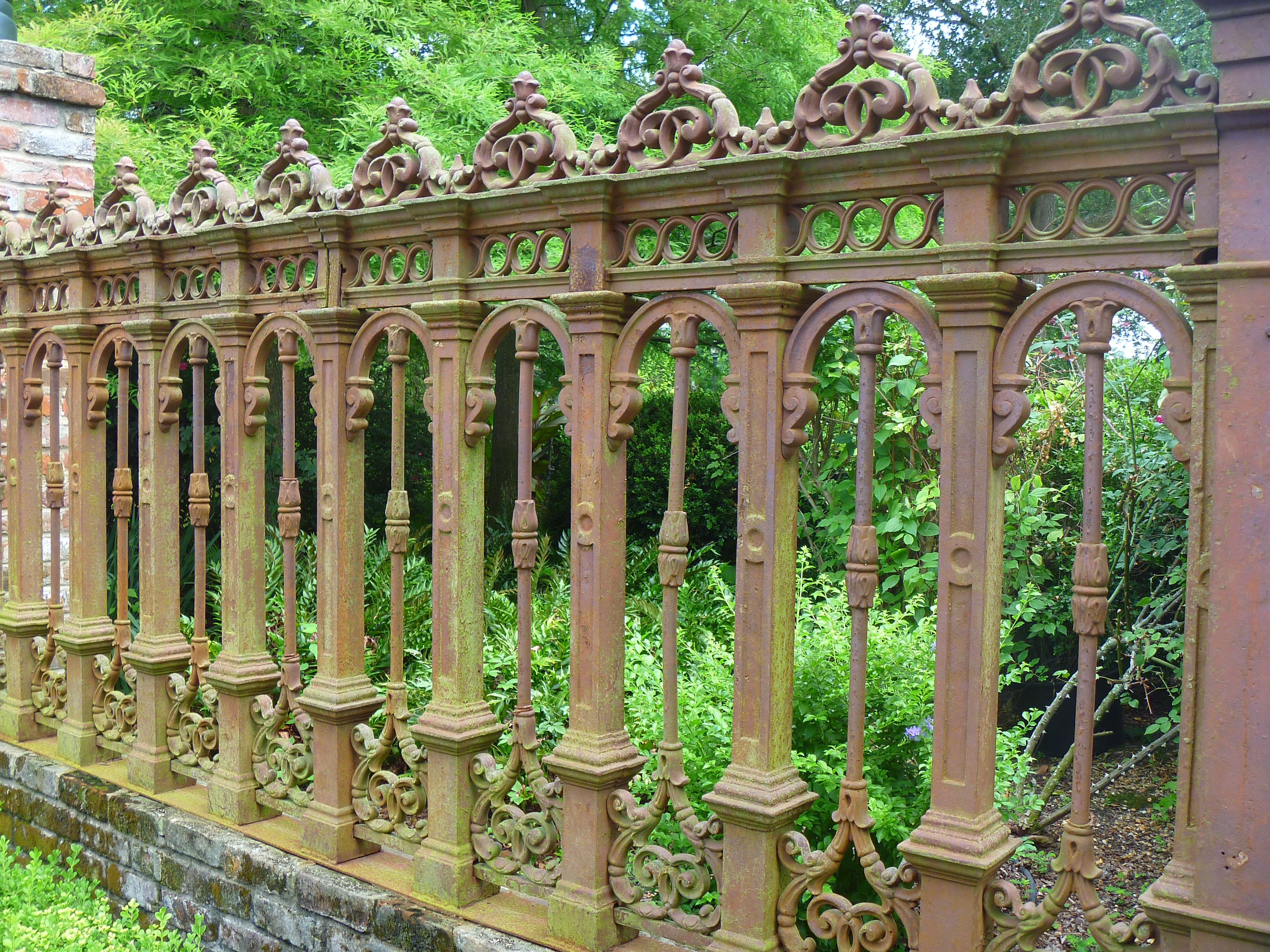 Old Iron Fence My Photos Pinterest Fence Garden Fencing And Metal Fence