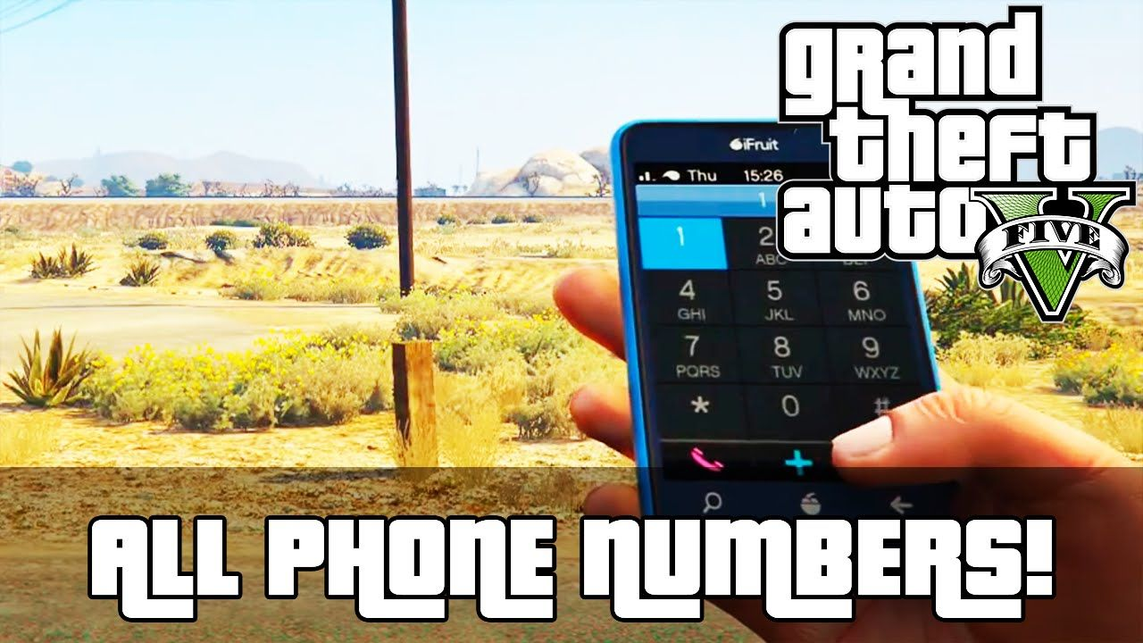 Gta 5 All Secret Hidden Phone Numbers Gta 5 Gta Gta V Secrets