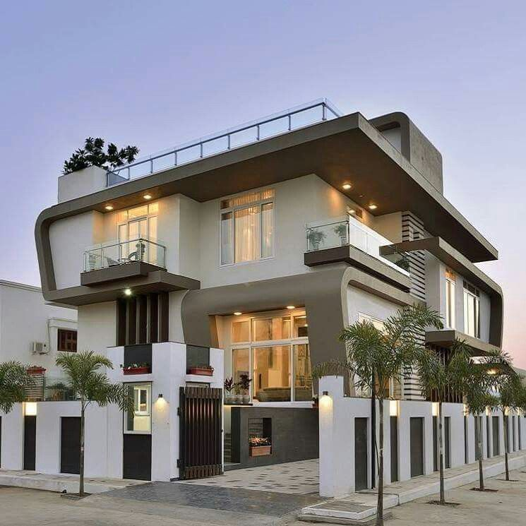 contemporary villa in udaipur house exterior house on types of walls in homes id=83601