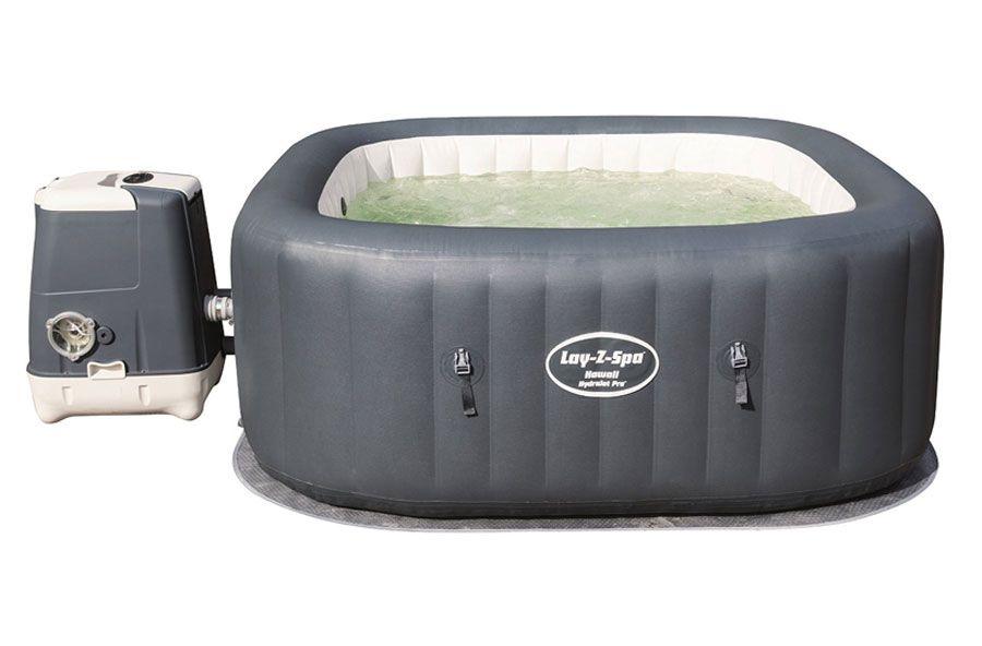 Bestway Lay Z Spa Hawaii Hydrojet Pro Hot Tub Review 2016 Soft Tub Hot Tub Portable Hot Tub Inflatable Hot Tubs
