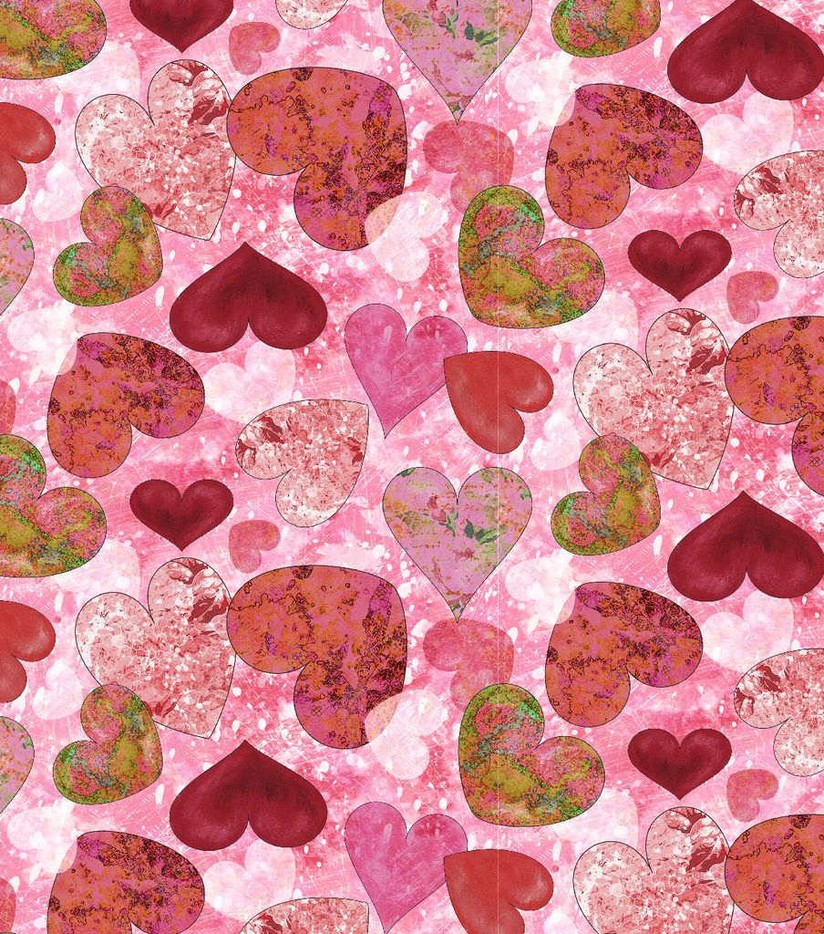 Allover Hearts Valentine S Day Textured Cotton Fabric Joann Holiday Fabric Fabric Hearts Fabric Heart