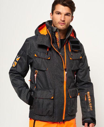 yksityiskohdat aito verkossa täällä Ultimate Snow Service -takki | Superdry jacket men, Snow ...