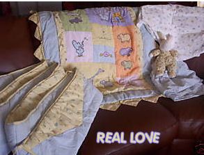 John Lennon Nursery Real Love Baby Bedding Collection Crib