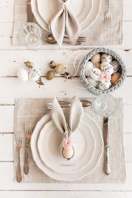 Photo of Easter 2019 {table decoration DIY}