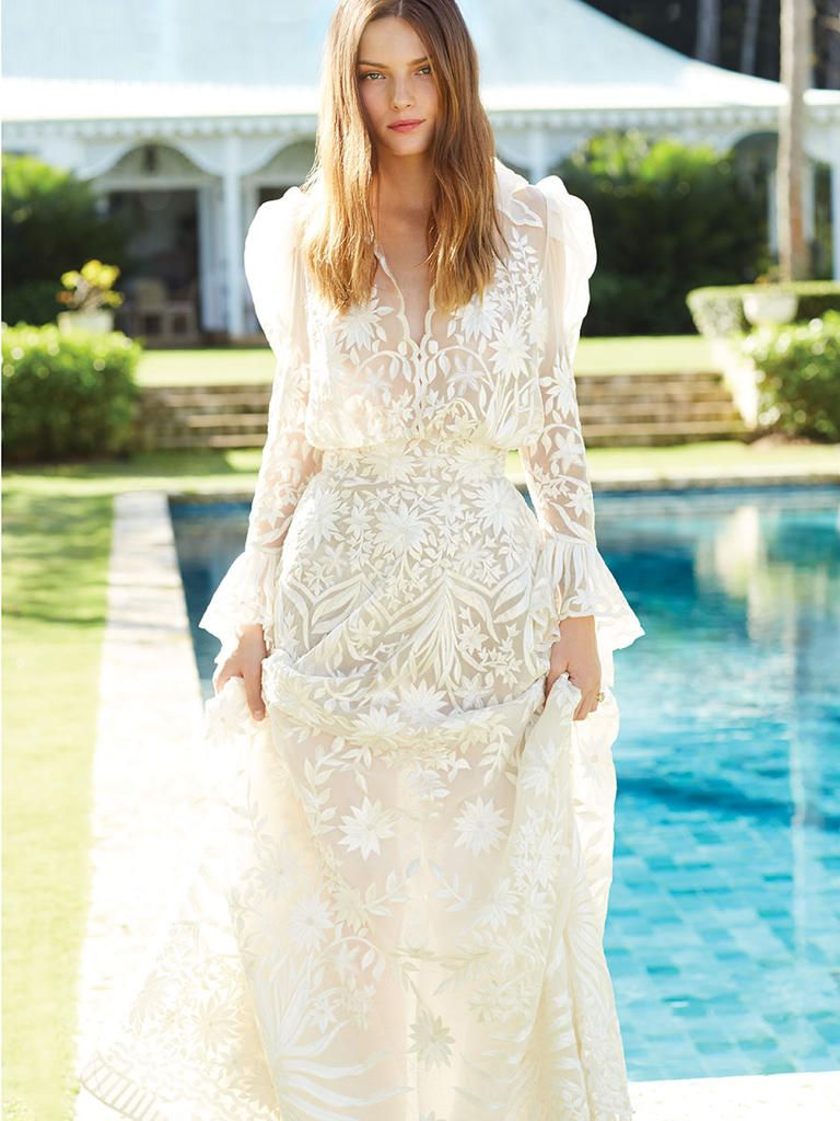 dresses for a beach or destination wedding and shopping tips
