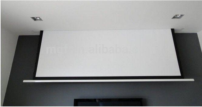 Afbeeldingsresultaat Voor Hidden Projector Screen Ceiling