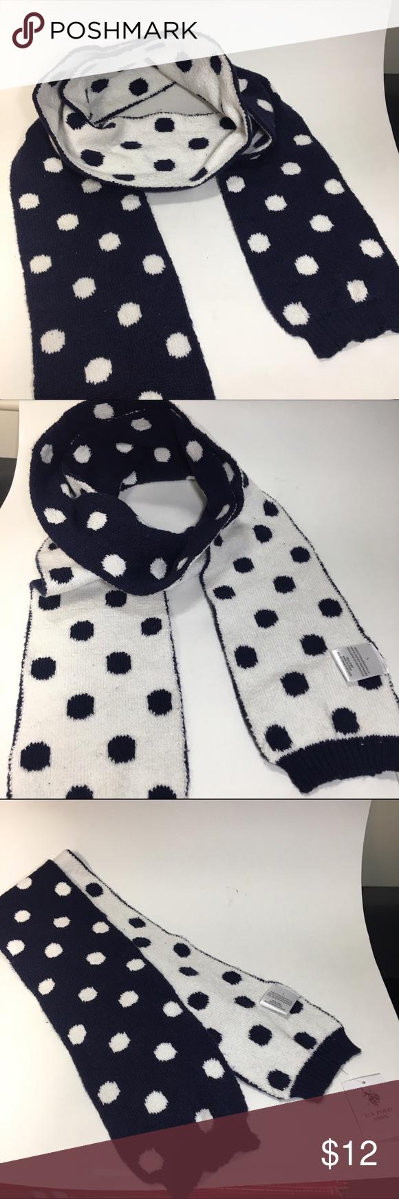 Polo scarf Brand new with tag. Pokadot polo scarf U.S. Polo Assn. Accessories Scarves & Wraps