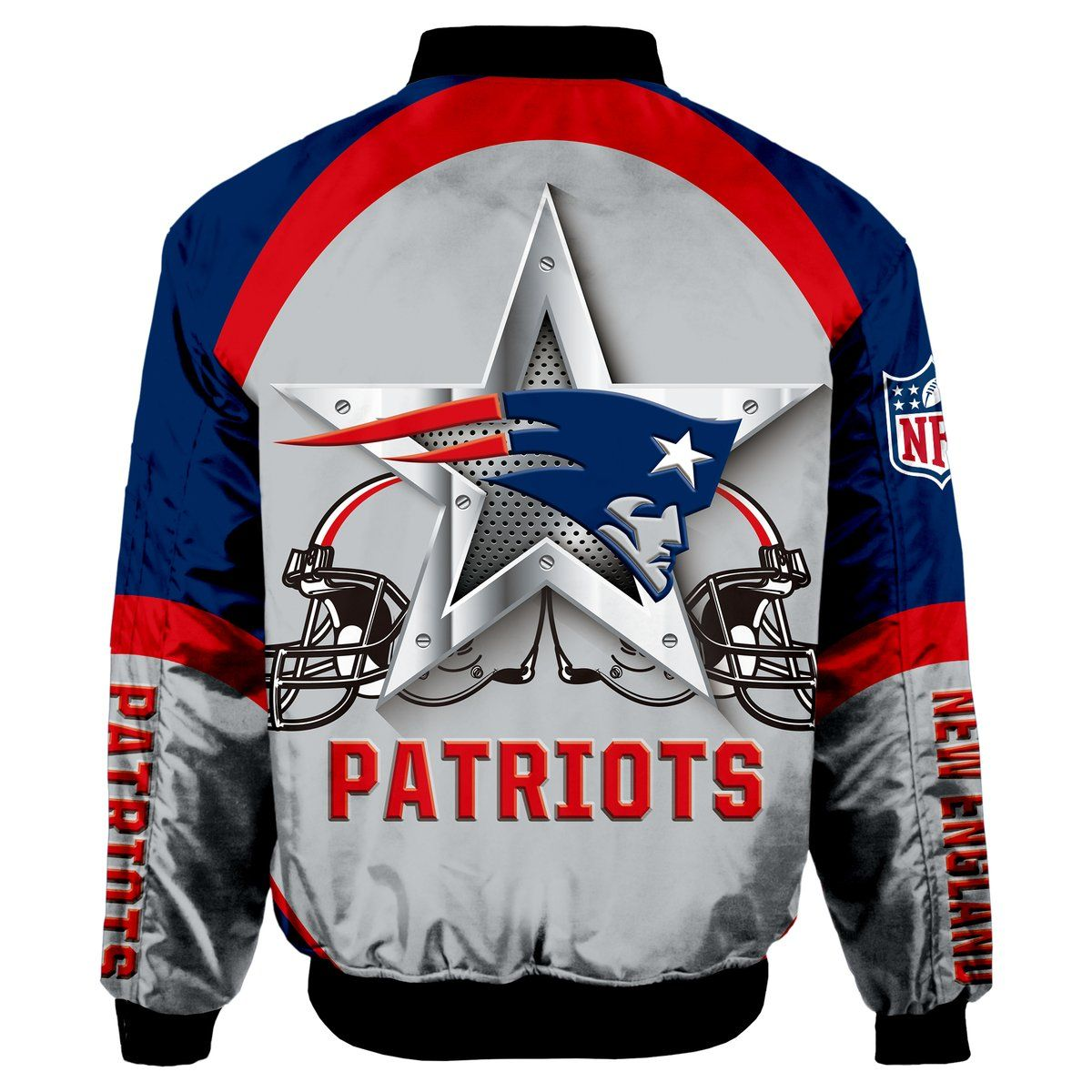 New England Patriots Bomber Jacket Graphic Player Running Jackets Sweatshirt Outfit Bomber Jacket
