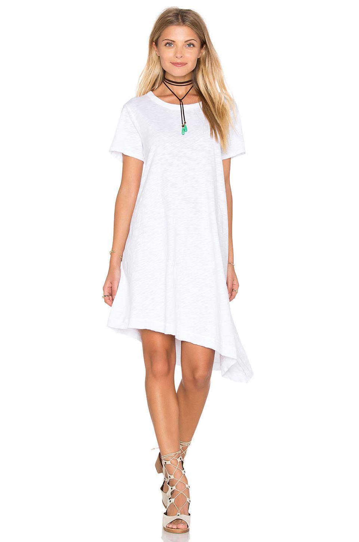 Revolve Dresses Trapeze Dress White Dress [ 1450 x 960 Pixel ]