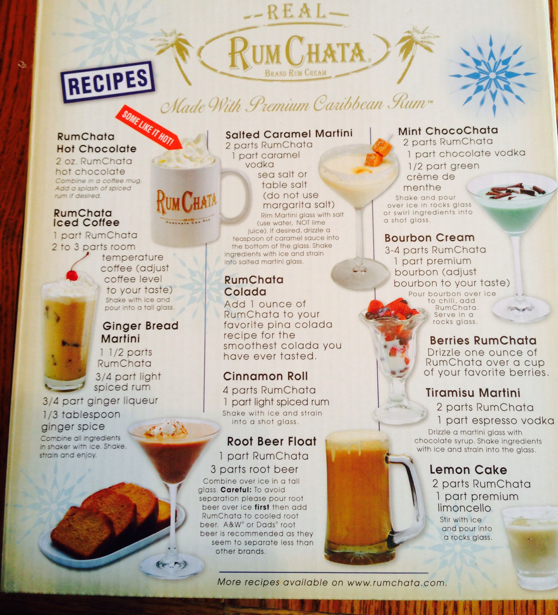 Rumchata Drink Recipes (With Images)