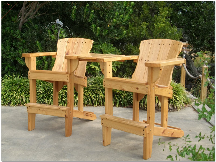 Merveilleux High Adirondack Chair   Maybe For Nick (handicap)