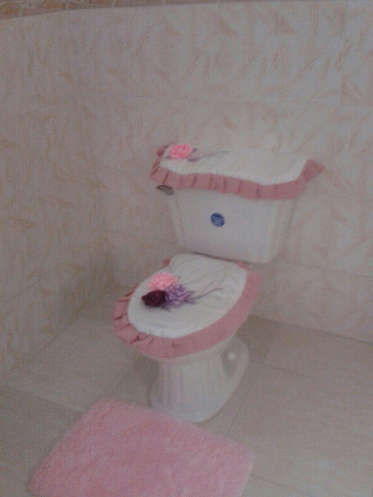 Juego baño Rosa