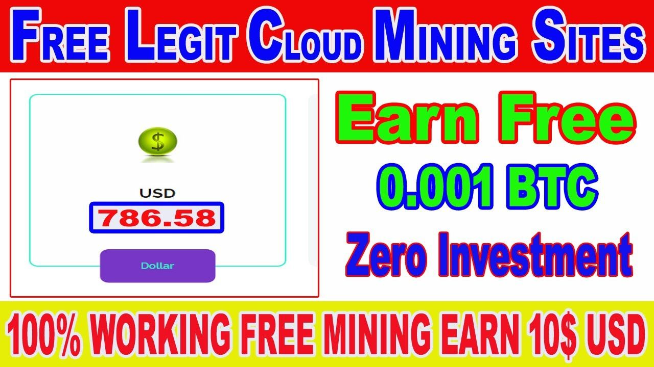 2020 Launched New Free Bitcoin Mining Site| Earn Free Bitcoin ...