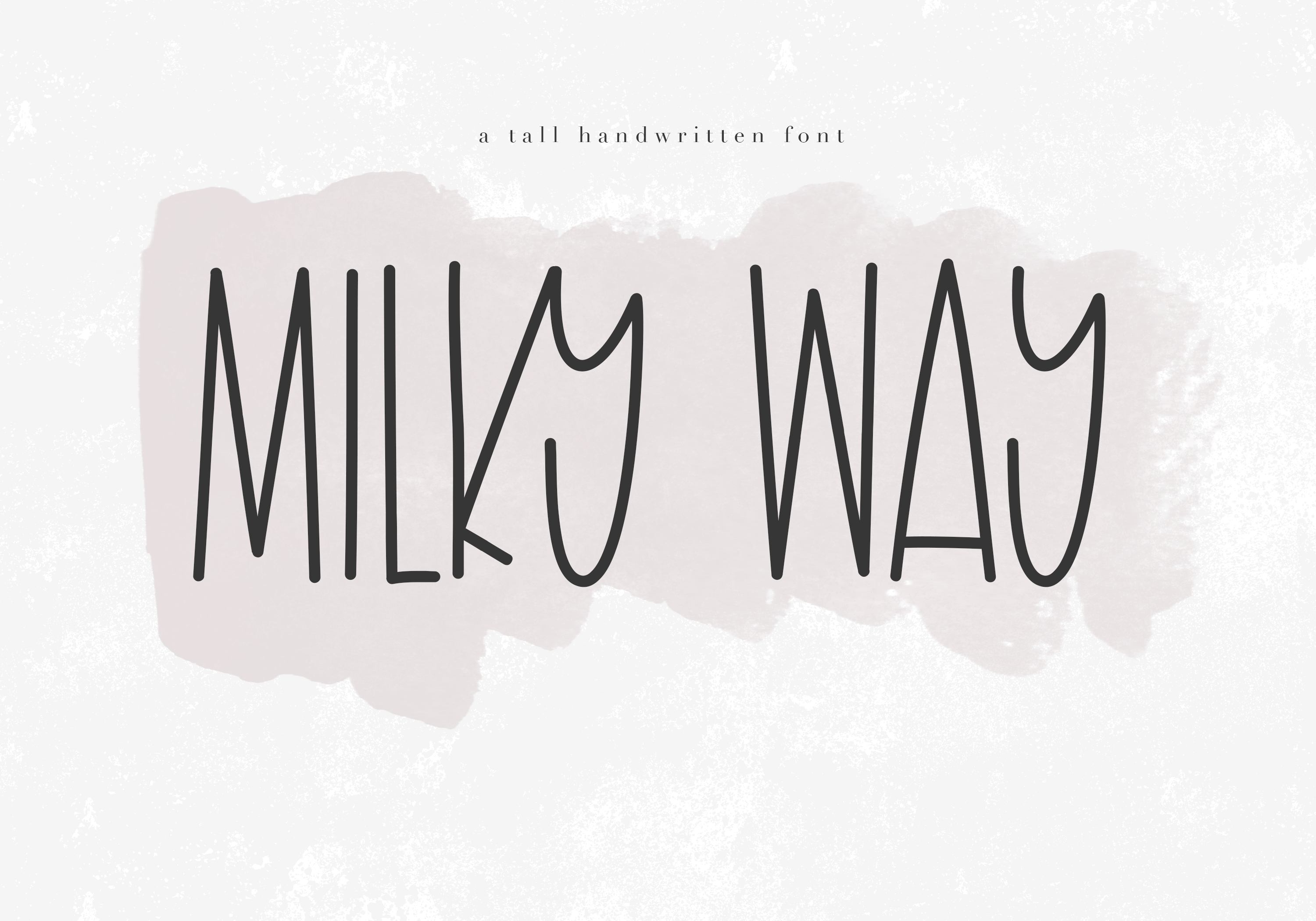 Milky Way (Font) by KA Designs · Creative Fabrica Tall