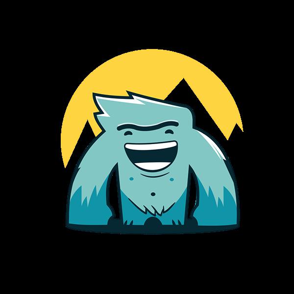 Yeti Mascot On Behance Illustration Character Design Character Design Yeti Logo