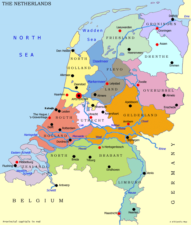 Dutch Map on