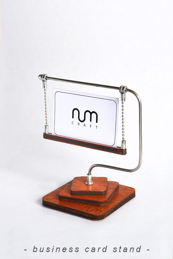 Business Card Stand Business Card Holder For Desk Business Card Display Numcraft Business Card Stand Business Card Displays Business Card Holders
