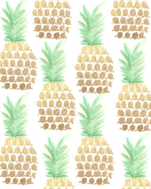 Trend Alert Pineapples Etc Pineapple Wallpaper Pattern