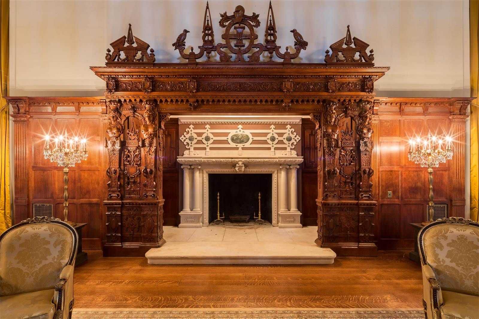 darlington new york metro mansion a luxury home for sale in the crocker mansion in mahwah new jersey a square foot single family home built by architect james brite in it is on the national register of historic
