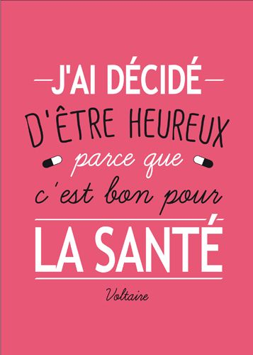 J Ai Décidé D être Heureux : décidé, être, heureux, Http://www.kiub-edition.fr/wp-content/uploads/2015/08/CPTY609.jpg, Citation,, Carte, Postale,, Citations, Créatives