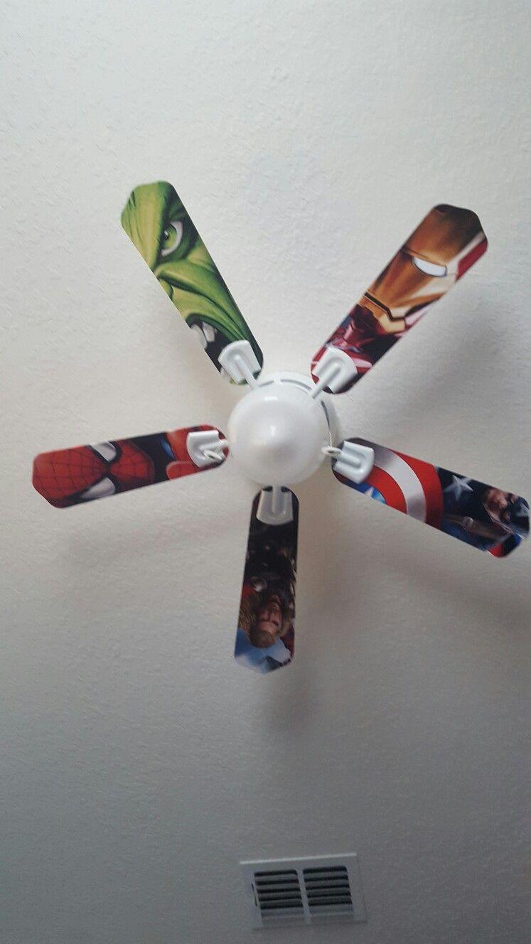 Childrens bedroom ceiling fans