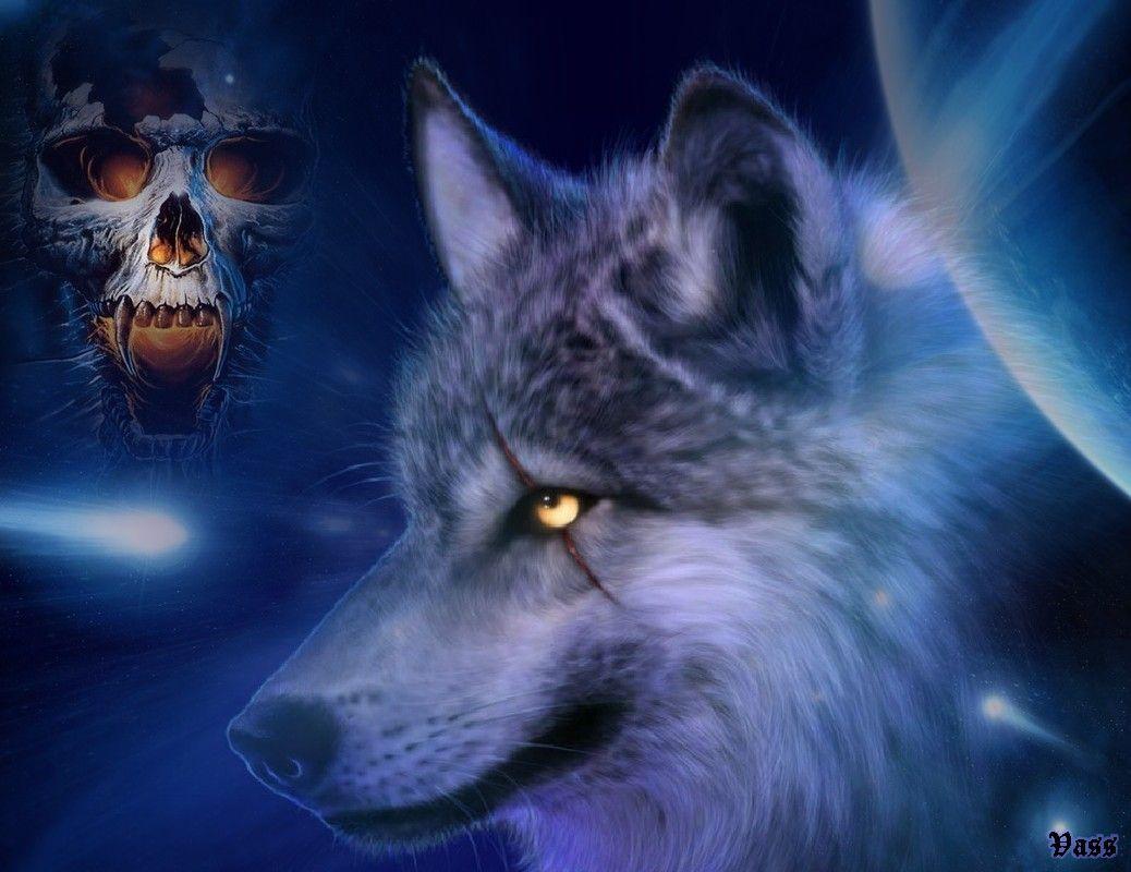 3D Wolf Wallpaper Resim, Hayvan resimleri, Vahşi hayvanlar