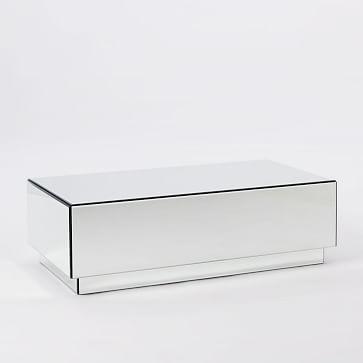 Geo Mirror Storage Coffee Table Westelm 447 On Sale