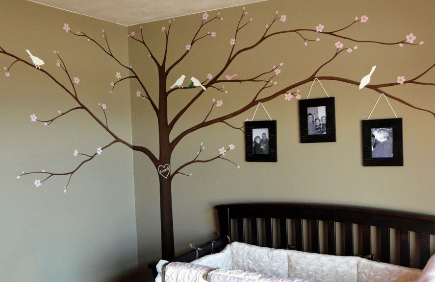 Image gallery tree murals for Apple tree mural
