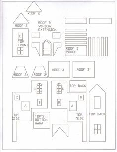 Gingerbread House Templates Cerca Con Google Harry Potter The Weasley S Burr Gingerbread House Patterns Gingerbread House Designs Gingerbread House Template