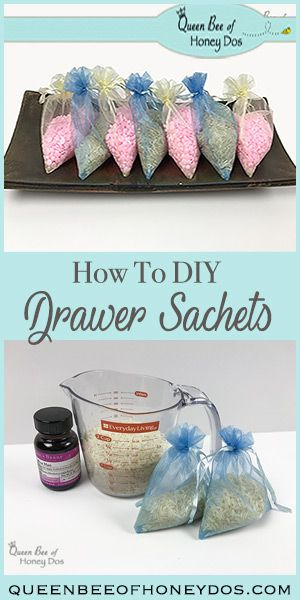How To Diy Drawer Sachets Queen Bee Of Honey Dos Drawer Sachets Diy Scent Creative Diy Gifts