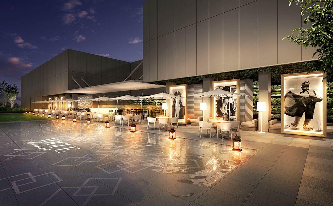 2017年4月開業した GINZA SIX 。その屋上にある「 GINZA SIX ガーデン 」に、7 月 28 日(金)~10月29日(日)までの 期間限定 で ファッショニスタ のための レストラン 「 VOGUE LOUNGE GINZA SIX 」が オープン します!