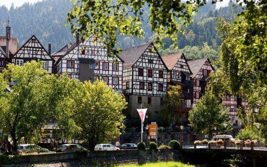 Im Schwarzwald — Somewhere in the Black Forest - #architecture #baden #black #deutsch #deutschland #fachwerk #forest #frame #germany #landscape #mountains #nature #regions #Schwarzwald #southwestern #timber #trees #typisch #wuerttemberg #württemberg