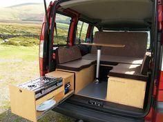 Amdro Alternative Camper Conversions Camper Kitchen Minivan Camper Conversion Van Camping