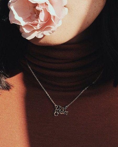 Pink Skies Necklace #BANDOxBINGBANG | @bingbangnyc @bando ❤️⚡️