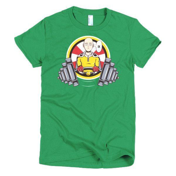 One Punch Saitama OK Girl Short Sleeve Shirt - PF00454WS