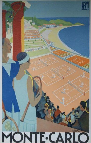 PLM - Monte-Carlo - illustration de Roger Broders -