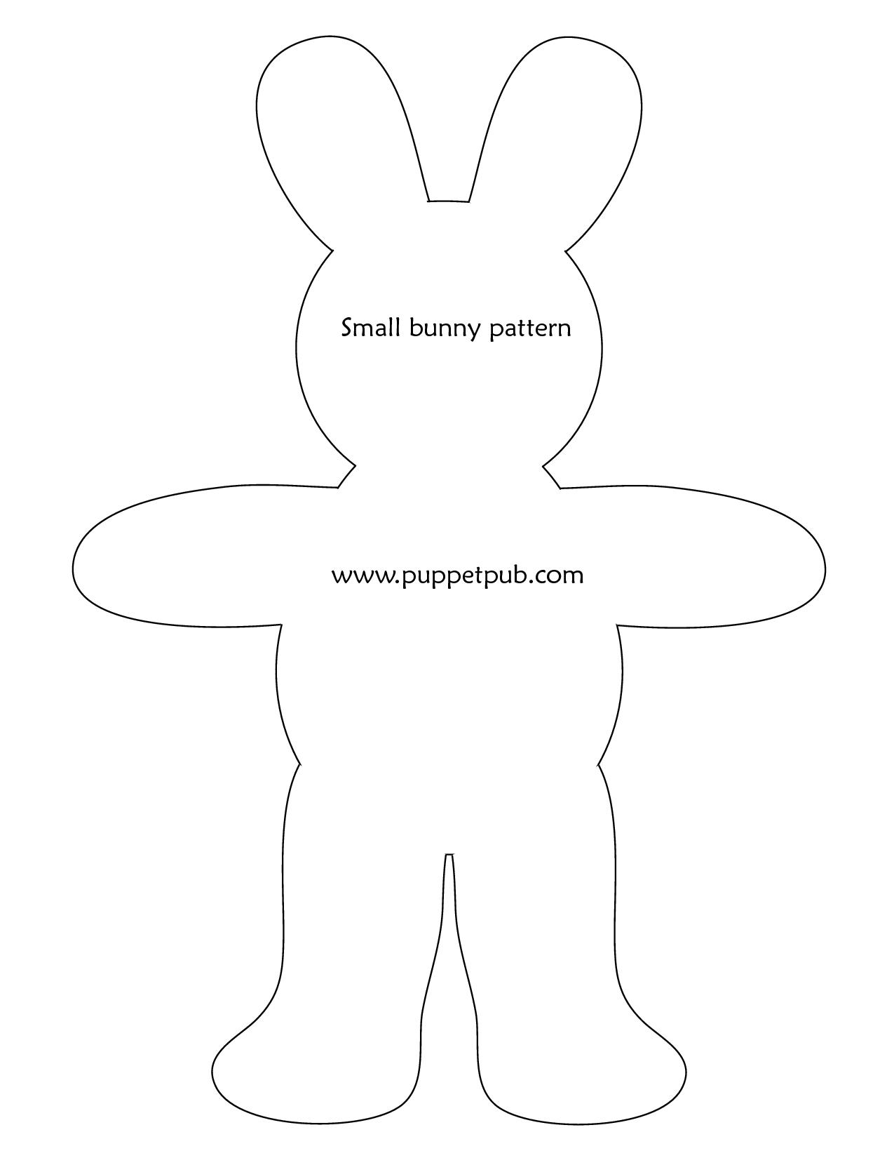 Free Bunny Rabbit Patterns