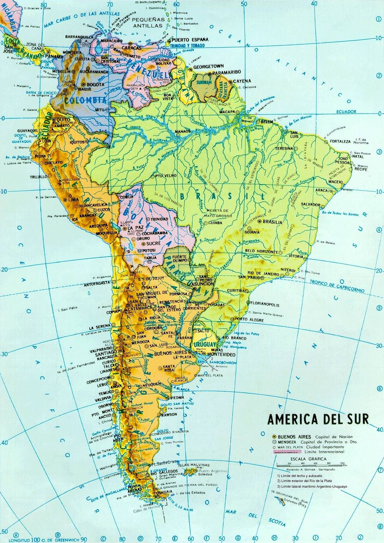 Epingle Par Nguyen Minh Uyen Sur South America Carte Amerique
