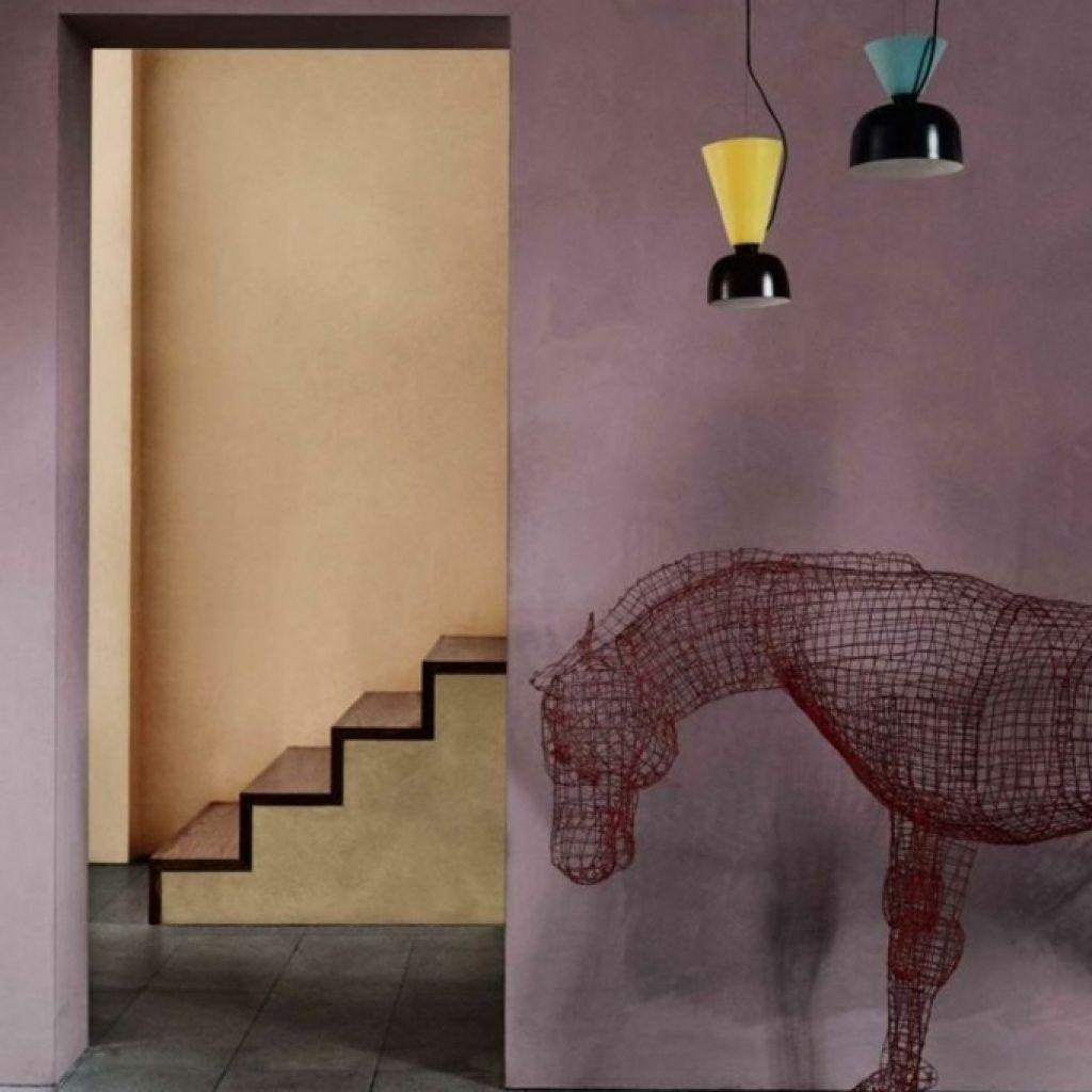 Gemütliche Innenarchitektur : Wandfarbe Beere Freude Mit Farbe