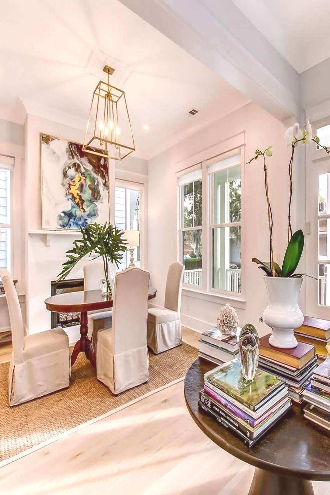 #tableliving #savannahs #hotspot #indoor #space #this #chic #room #and #the #if #ba #25 #is #br If the is #Savannah's #hotspot, this chic 3 BR, 2.5 BA space is tYou can find Front porches and more on our website.If t...